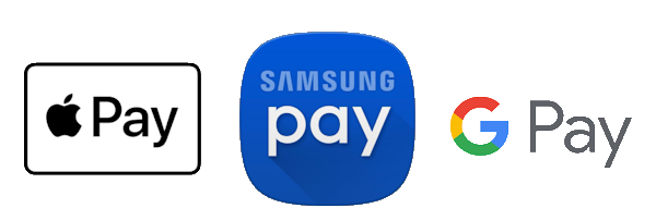 Apple Pay - Samsung Pay - Google Pay